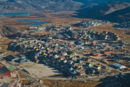 ILULISSAT   _   3. grösste Stadt von Grönland mit ca. 4'500 Einwohnern