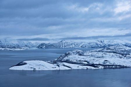 Fijorde im nördlichen  Polarmeer