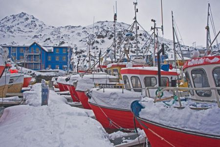 Fischerhafen in HONNINGSVAG