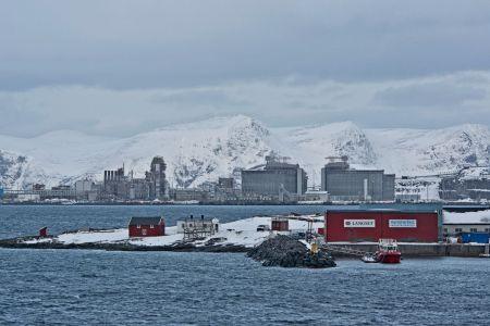 Industrieanlage / Elektrizitäswerk in Hammerfest